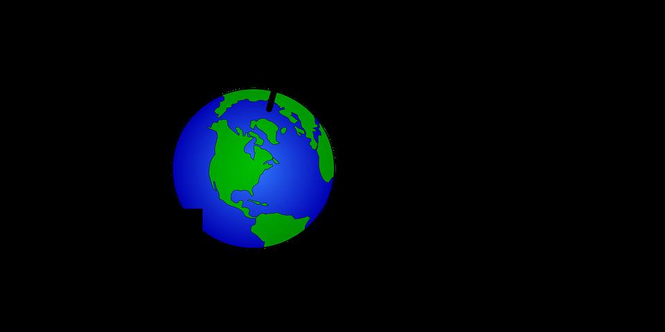 global globe earth free vector graphic on pixabay