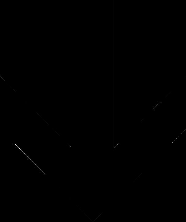 Výsledek obrázku pro šípka dolů