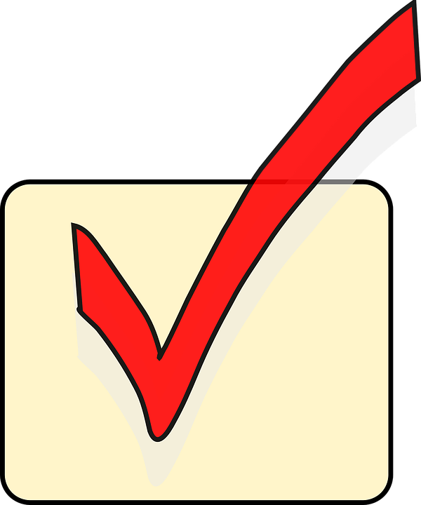 Tick Mark Ok Free Vector Graphic On Pixabay