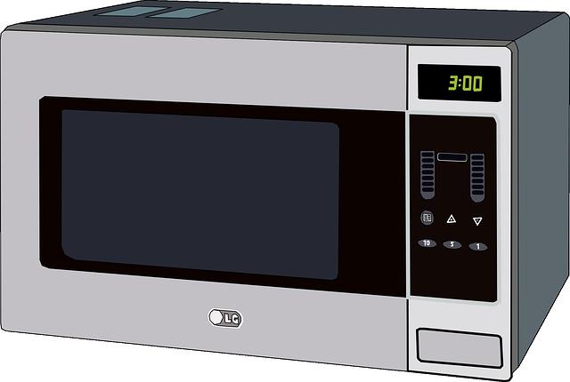 Vector gratis microondas horno aparato cocina imagen for Cocinar en microondas