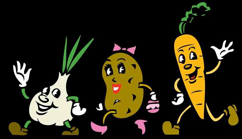 Картинки, анимашки картинки овощей и фруктов