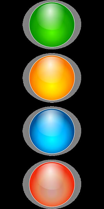 Viñetas De Color Párrafo · Gráficos vectoriales gratis en