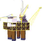 oil rig, rig, platform