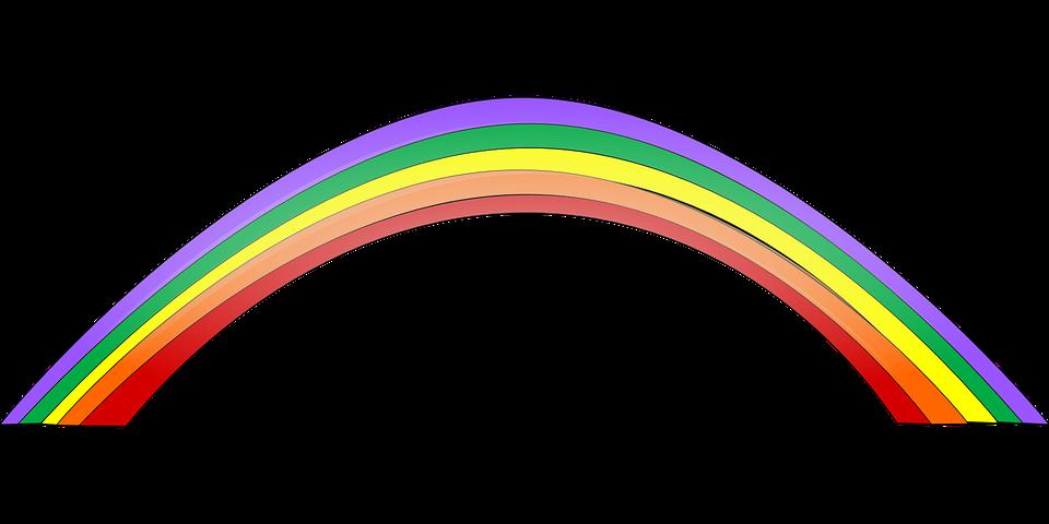 Image vectorielle gratuite arc en ciel color belle - Image arc en ciel gratuite ...