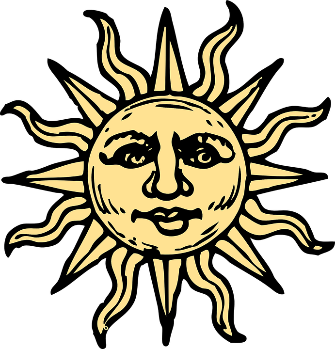 sun summer solstice free vector graphic on pixabay rh pixabay com