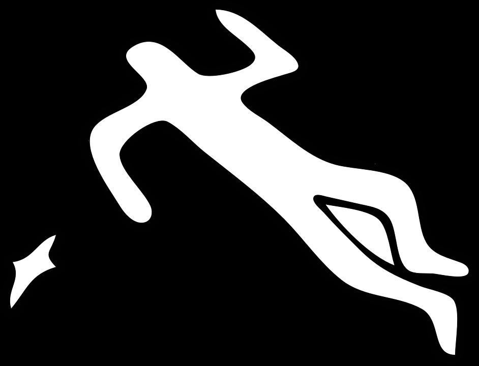 Crime Scene Silhouette Body - Free vector graphic on Pixabay