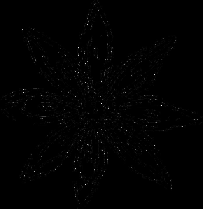 Цветок узор