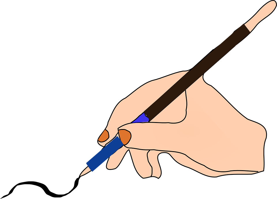 Free vector graphic: Pen, Ink, Hand, Hold, Writing - Free Image on ...