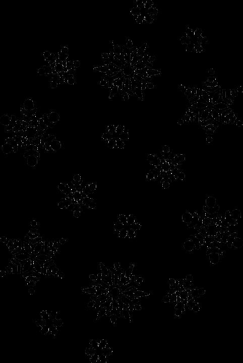 Bien-aimé Image vectorielle gratuite: Flocon De Neige, Noël, Hiver - Image  ZC24