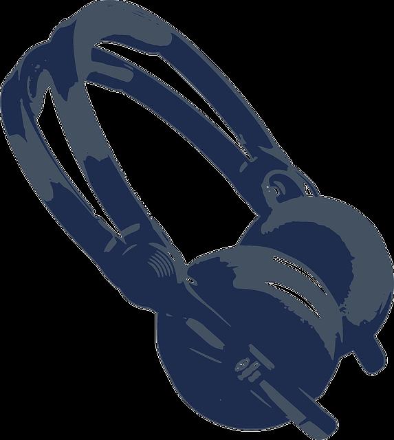 Headphone Headphones Stereo 183 Free Vector Graphic On Pixabay