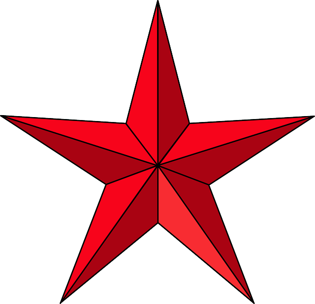 Star Red Christmas · Free vector graphic on Pixabay