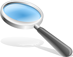 magnifying glass, hand glass, magnify