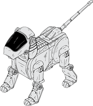 Robotic, Dog, Electronic, Toy