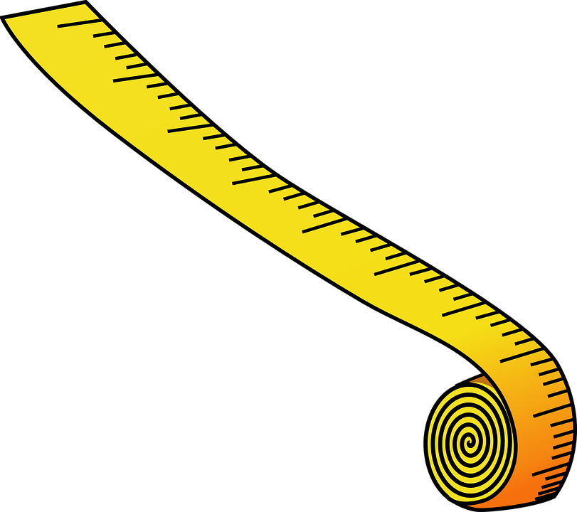 measuring tape measurement inches metric measure
