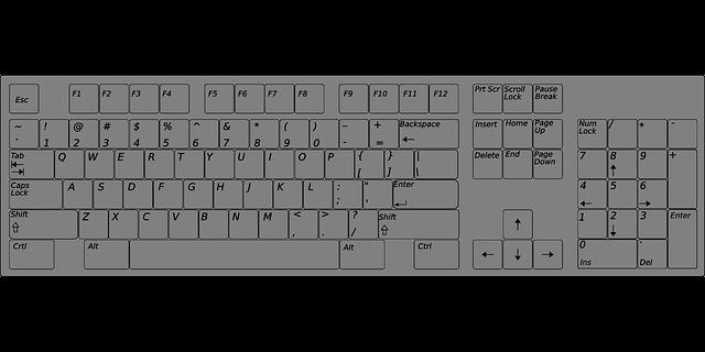 tastatur computer pc 183 kostenlose vektorgrafik auf pixabay