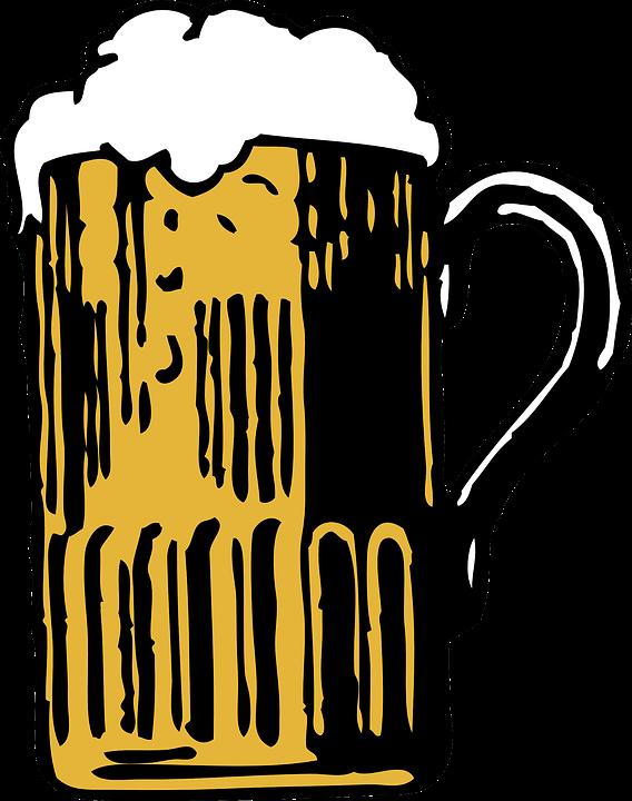 Molto Immagine vettoriale gratis: Birra, Boccale, Testa, Schiuma  FO42