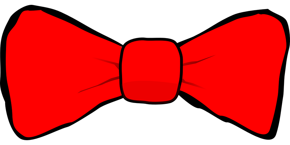 noeud papillon red cravate accessoire