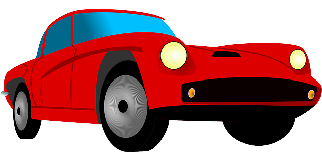 Car sport red free vector graphic on pixabay - Clipart voiture ...
