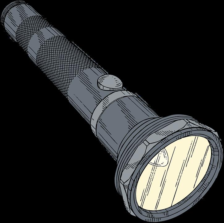 Pochodnia Latarka Torchlight - Darmowa grafika wektorowa na Pixabay