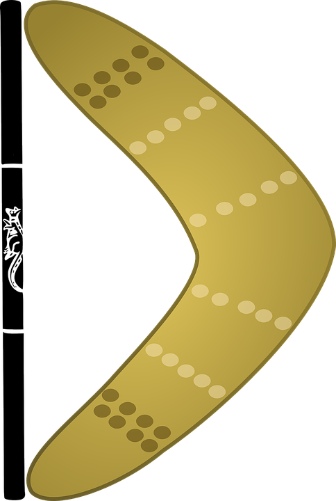 Boomerang Weapon Hunting · Free vector graphic on Pixabay