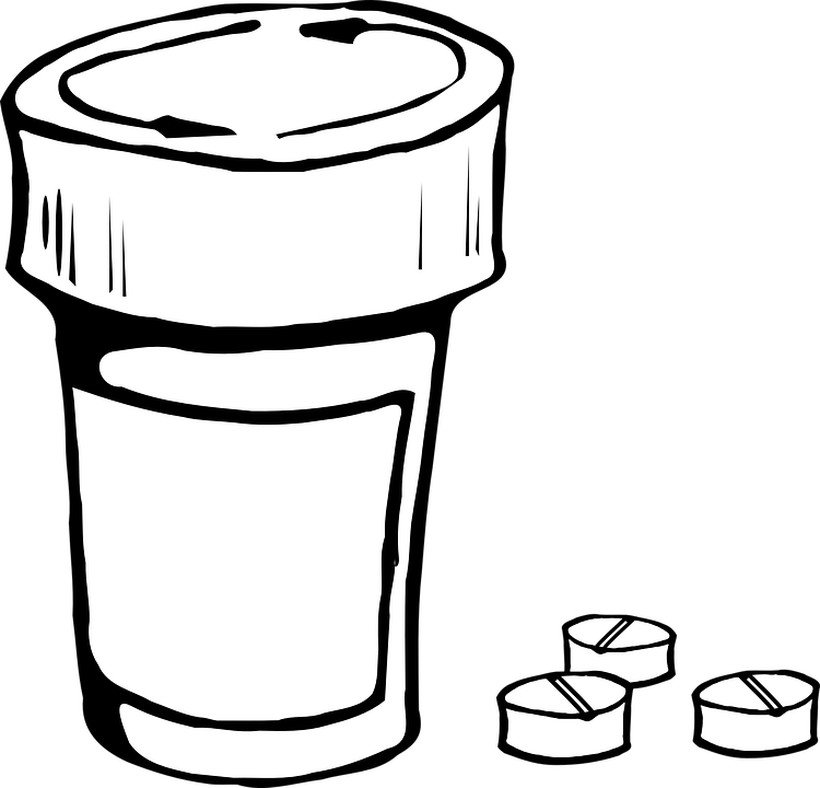 bottle pill container free vector graphic on pixabay rh pixabay com Clip Art Vitamins and Supplements Potty Clip Art
