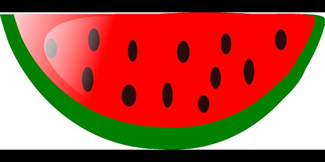 Watermelon Slice Fruit 183 Free Vector Graphic On Pixabay