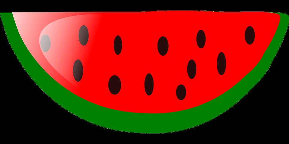 Watermelon Slice Fruit · Free Vector Graphic On Pixabay