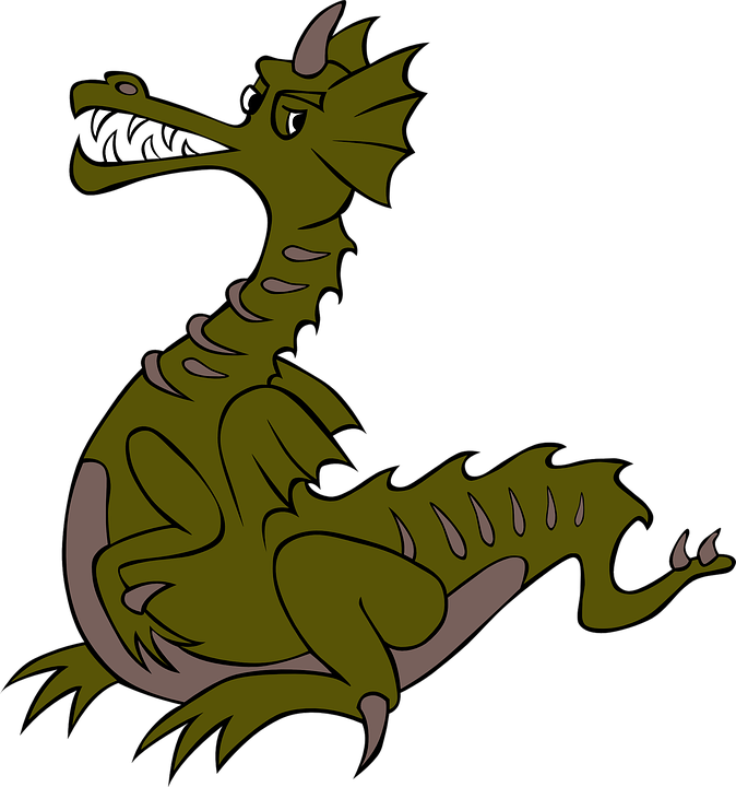 dragon green chinese free vector graphic on pixabay