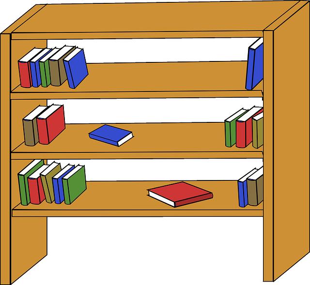 Boekenplank Boekenkast Houten · Gratis vectorafbeelding op Pixabay