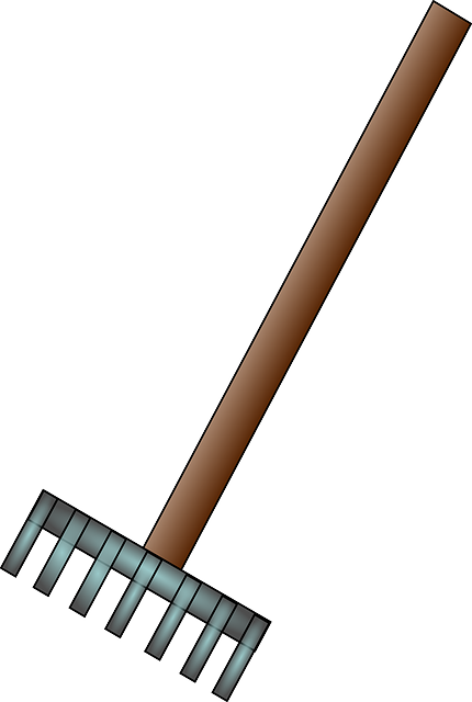 Rake Garden Tool Free Vector Graphic On Pixabay