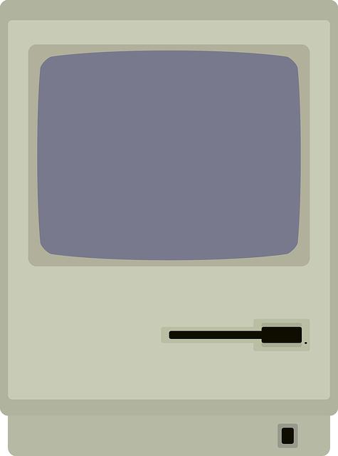 Free Vector Graphic Apple Macintosh Mac Monitor Free