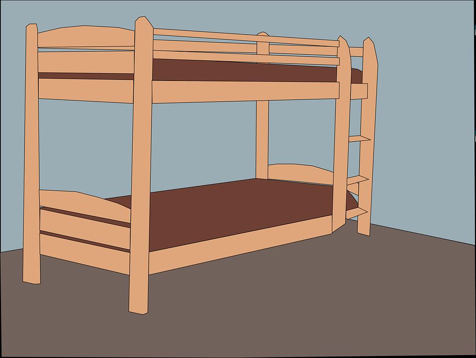 Cama Doble Muebles · Gráficos vectoriales gratis en Pixabay
