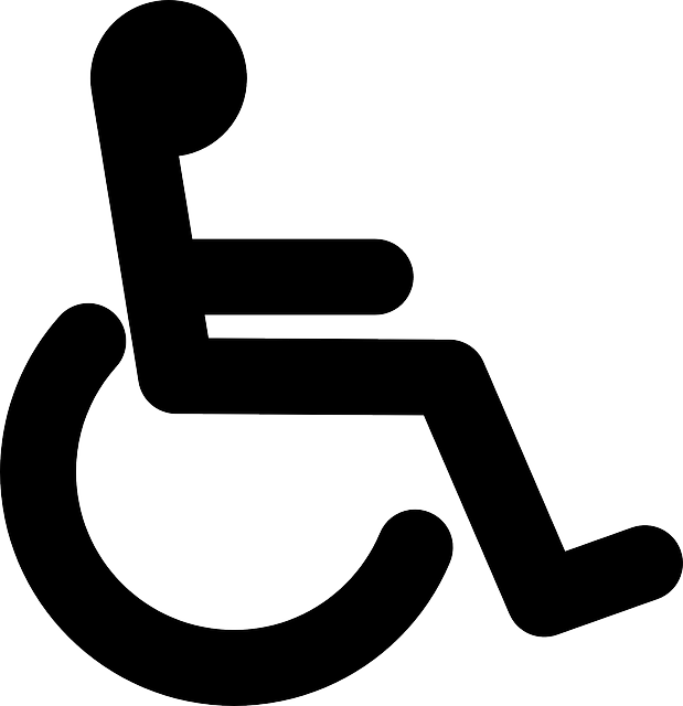 Wheelchair Black Handicap · Free vector graphic on Pixabay