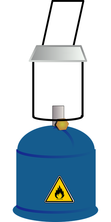 Gas Lantern Light Propane Camping Camp