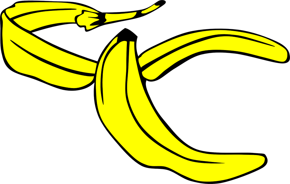 banana yellow peel free vector graphic on pixabay banana yellow peel free vector