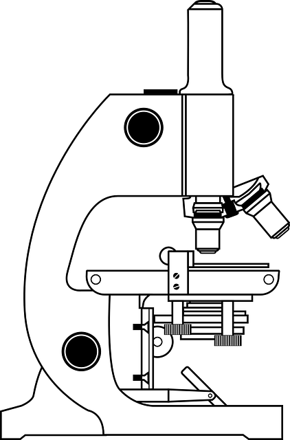 free vector graphic  microscope  science  microscopy