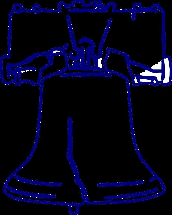 Campana De La Libertad Icono · Gráficos vectoriales gratis en Pixabay