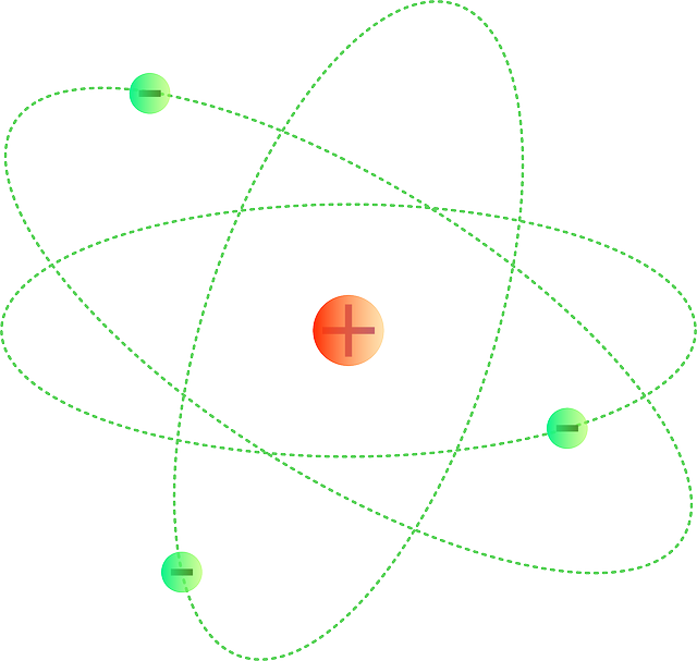 Atoms Proton Molecules · Free vector graphic on Pixabay Chemistry Atoms Wallpaper