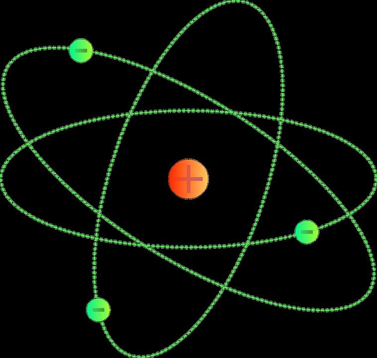 Free Vector Graphic Atoms Proton Molecules Atomic