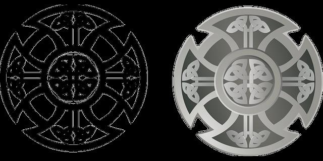 celtic shield design 183 free vector graphic on pixabay