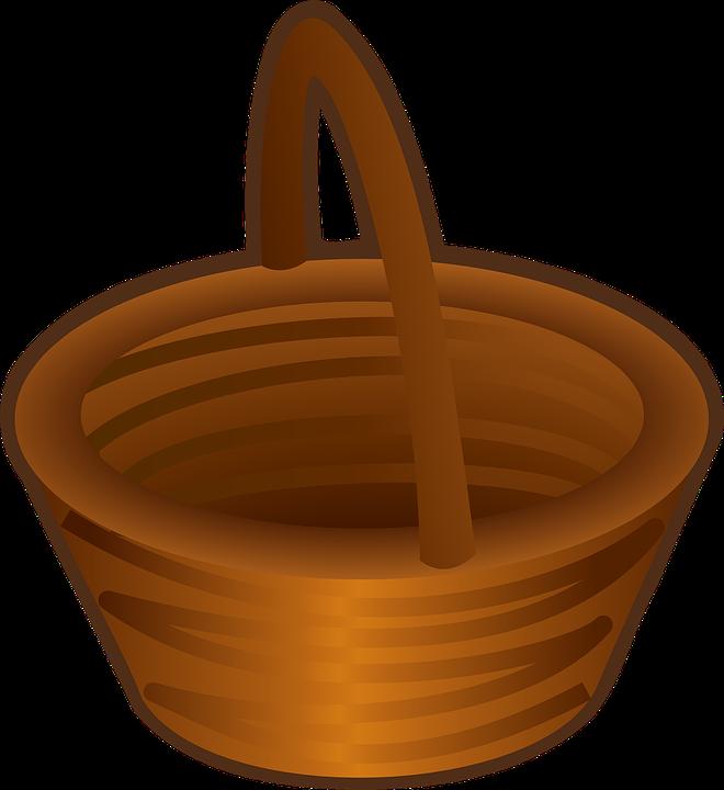 Keranjang Brown Kosong Gambar Vektor Gratis Di Pixabay