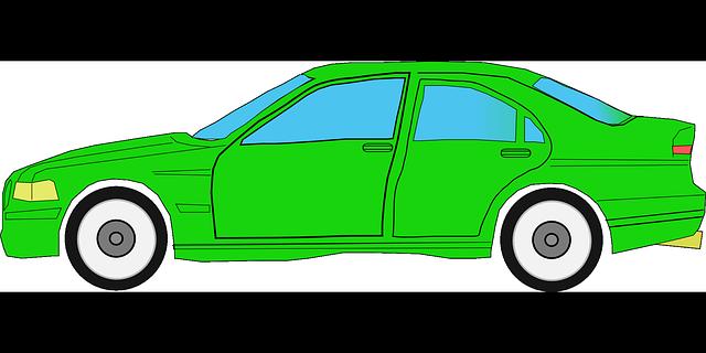 Wallpaper Animasi Mobil Sport: Car Green Auto · Free Vector Graphic On Pixabay