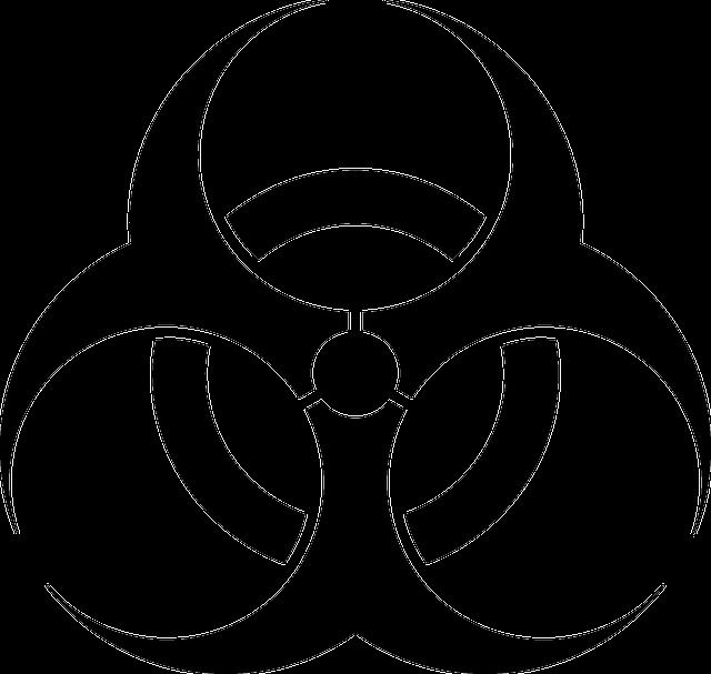 Strengths Icon With Png And Vector Format For Free: Símbolo De Risco Biológico · Gráfico Vetorial Grátis No