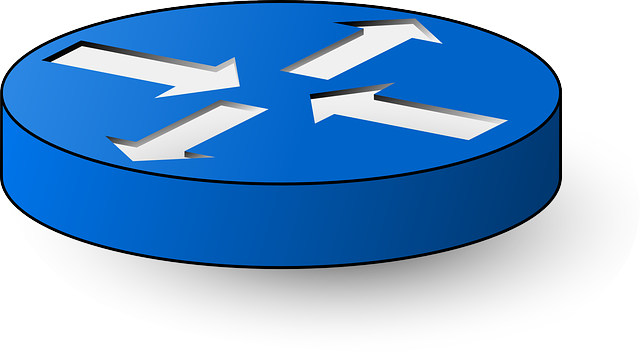 Network Symbols Clip Art : Router switch symbol · free vector graphic on pixabay