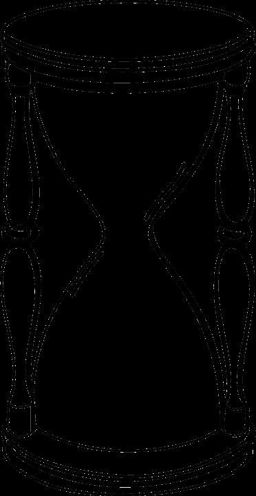Sanduhr schwarz weiß  Kostenlose Vektorgrafik: Sanduhr, Sand, Glas, Skizze, Zeit ...