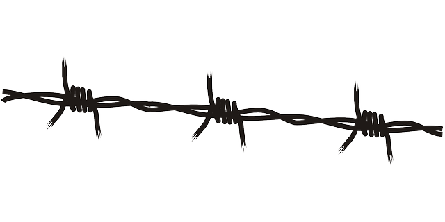 Barb wire black · free vector graphic on pixabay