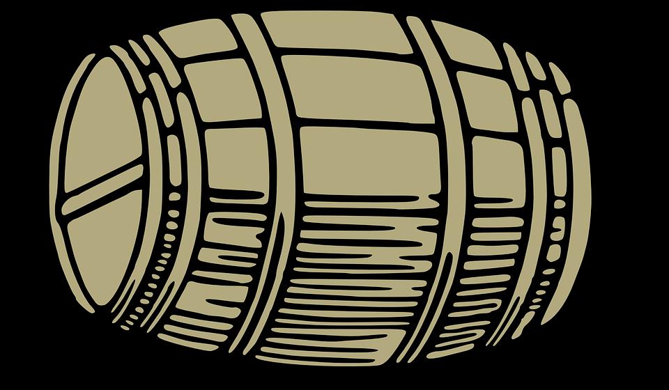Vector gratis barril de madera barrica vino imagen - Barril de vino ...