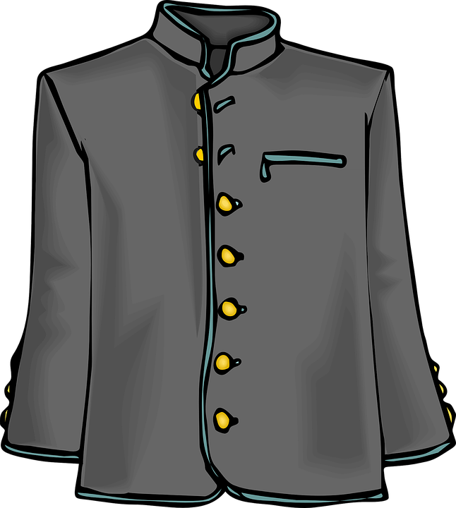 clipart of a jacket - photo #12