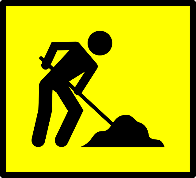 Worker Dig Yellow · Free vector graphic on Pixabay