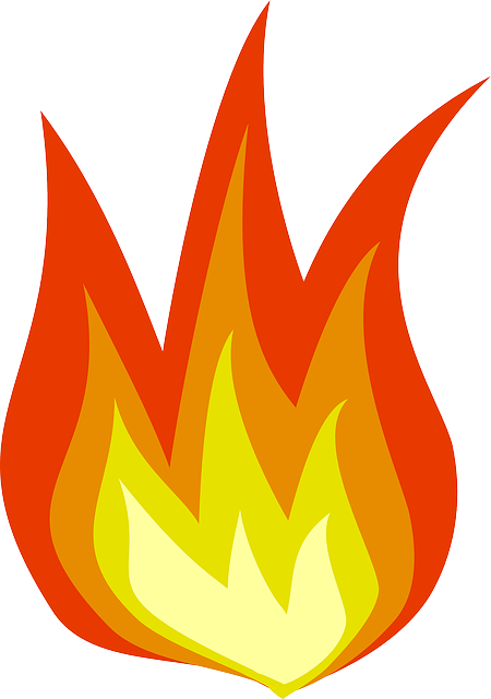화재 황색 불꽃 레드 굽기 블 레이즈 따뜻한 불 같은 빛나는 캠프 위험한 운동